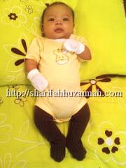 Baby Faiz 3m Pakai Tights saiz 6-12m (terbesar la kat die..cian baby..)