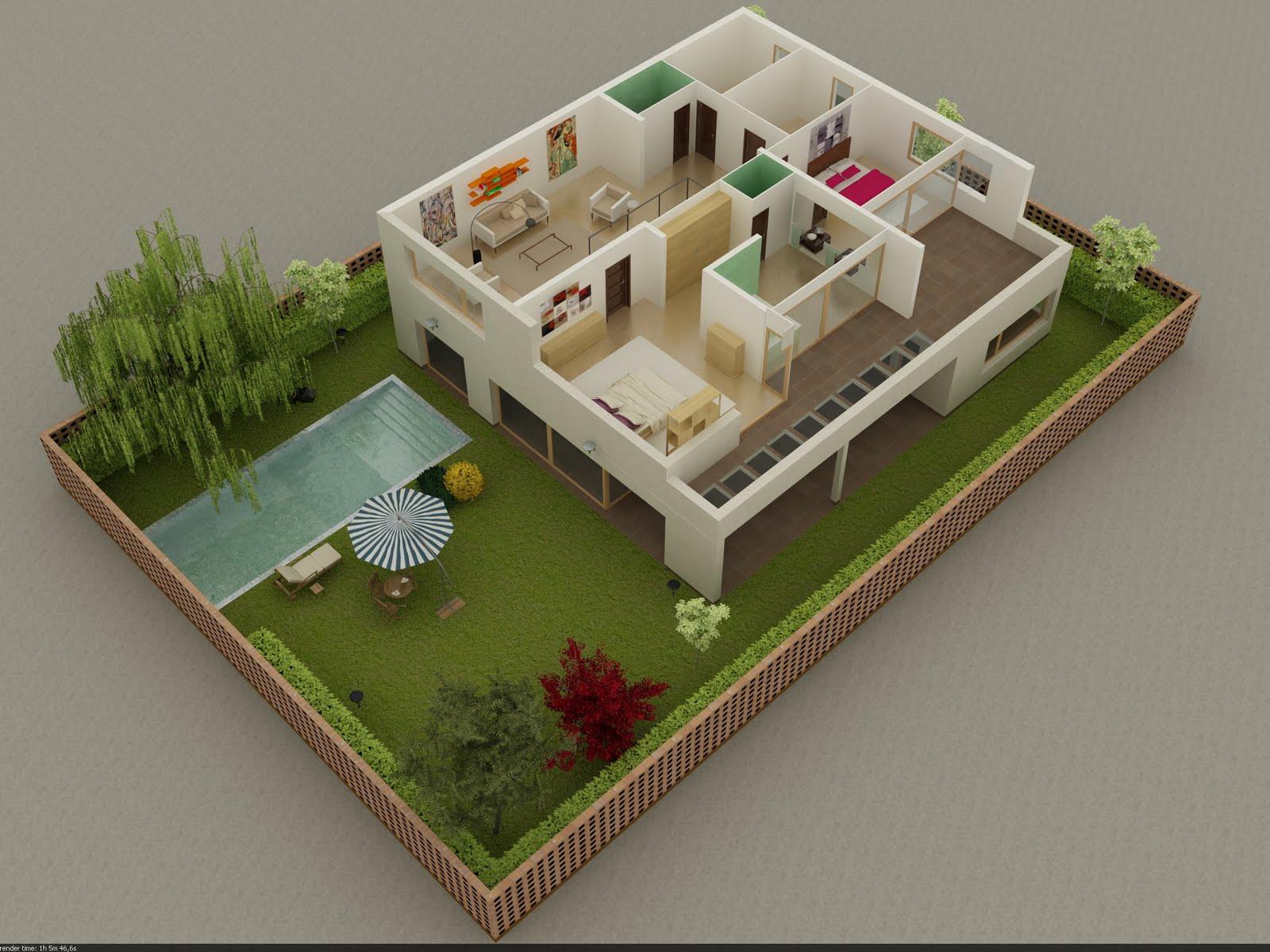 Md infograf a for Maquetas de jardines