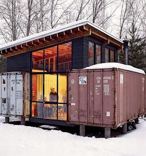 """Cabanons de chantier """"sécurisés"""" ? - Page 3 Container+home"""
