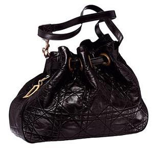شنط وحقائب2010 Dior+Black+Cannage+Lambskin+Bag