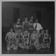 Boy's Basketball Team - Bertie County Champions, 1955