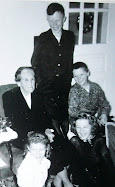 Mary Elizabeth Jones Proctor [1882 - 1957] and Her Grandchildren - 1951