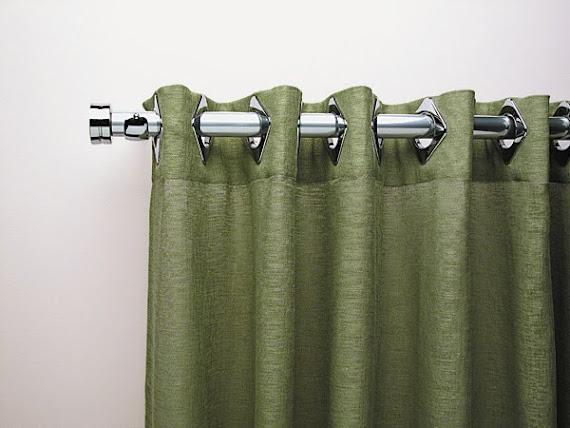 cortinas de ilhos