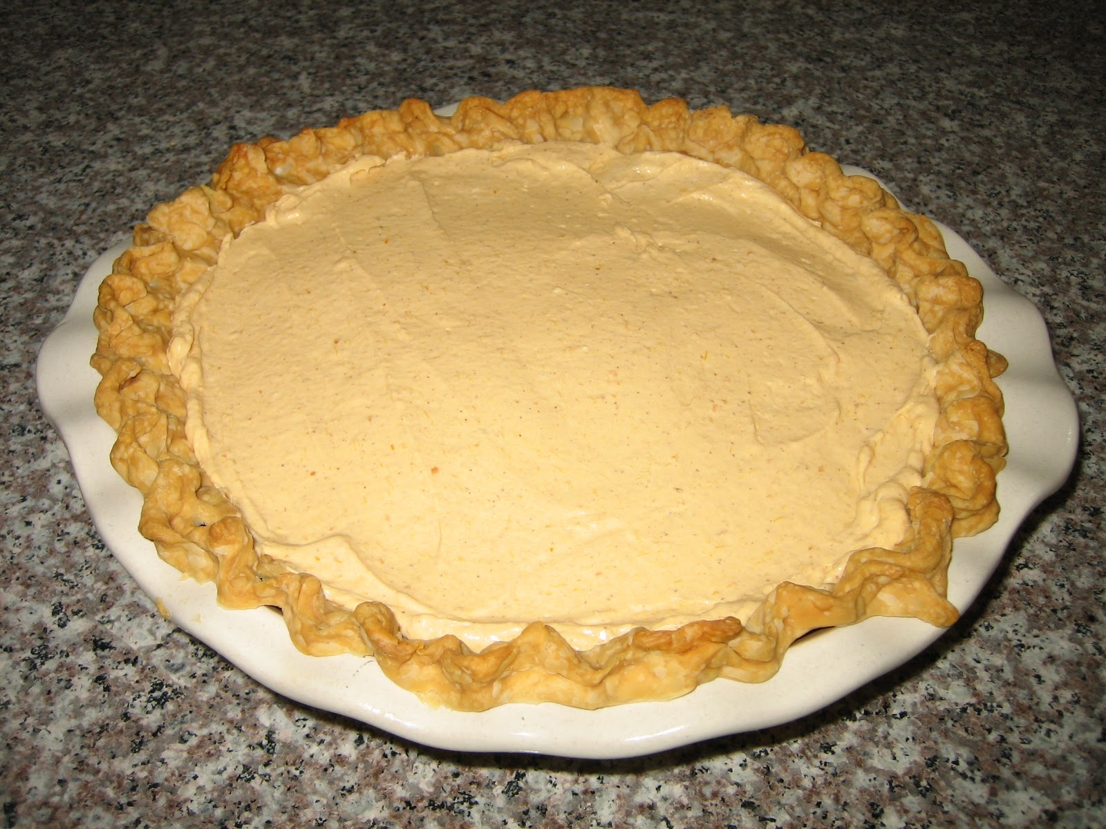 Home Cooked Happiness: Pumpkin Pie Cheesecake