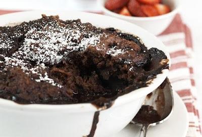 fleur délice: Chocolate Self-Saucing Pudding