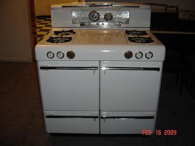 1950u0027s magic chef gas stove double oven