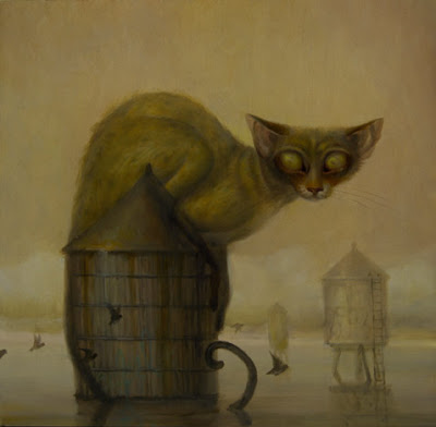 Martin Wittfooth  - Peintre dans Peinture Martin_Wittfooth_hunter_8x8