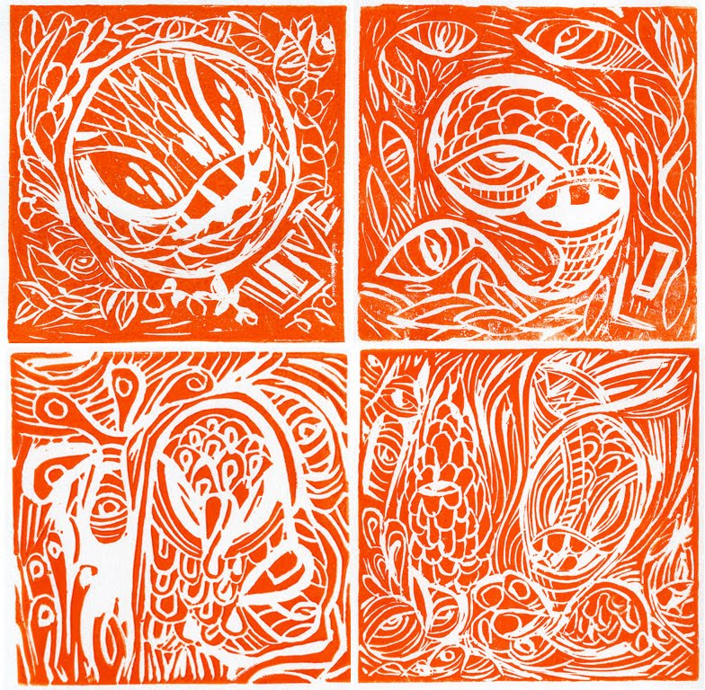 Linoleum Print Designs Murphy Linoleum Block ...