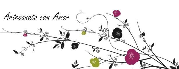 Artesanato com Amor - A de Amor, Decoração, Design e Bijuteria