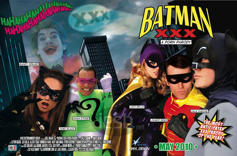 Batmanparody Batman XXX Director Sues Downloaders