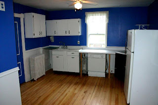 Refurbished upper unit kitchen