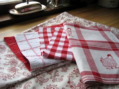 vintage linens!