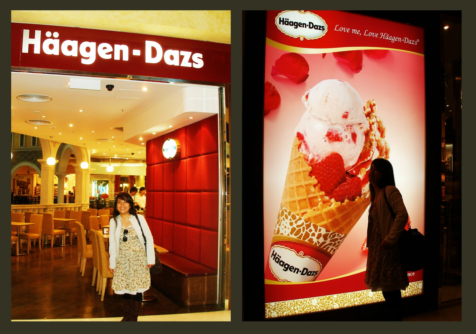 caramel, biscuit, cream, CONTEST ENTRIES, haagen dazs, macau, nuffnang, venetian, hotel,casino, tuklasera, tuklaserang, matipid, gondola, ride, hongkong