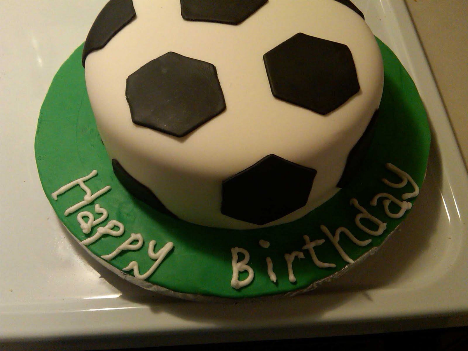 Cakes By Liz Soccer Birthday Cake
