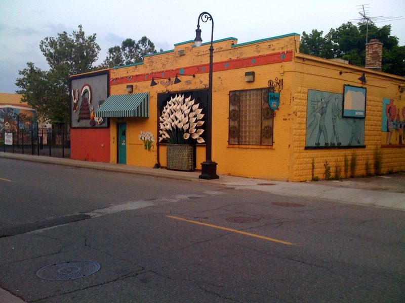 Domestic left a visit to mexican town for Detroit mural factory