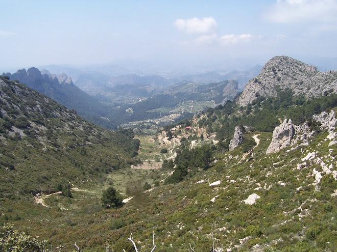 Las faldas de los montes