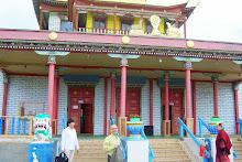 Pagodas templo donde se conserva la momia incorrpta del lama Itiguélov