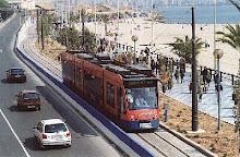 El tranvia de Alicante