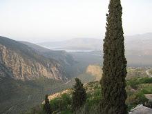 Itea y la bahia del golfo de Corinto