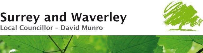 Surrey and Waverley local councillor David Munro