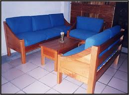 Sala 2-2-1 azul olmo Pino