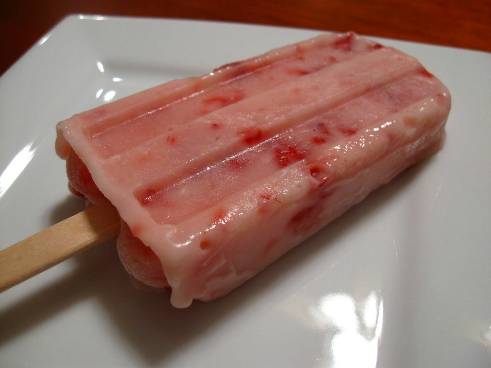 Cooking From Scratch: Strawberry Yogurt Popsicles