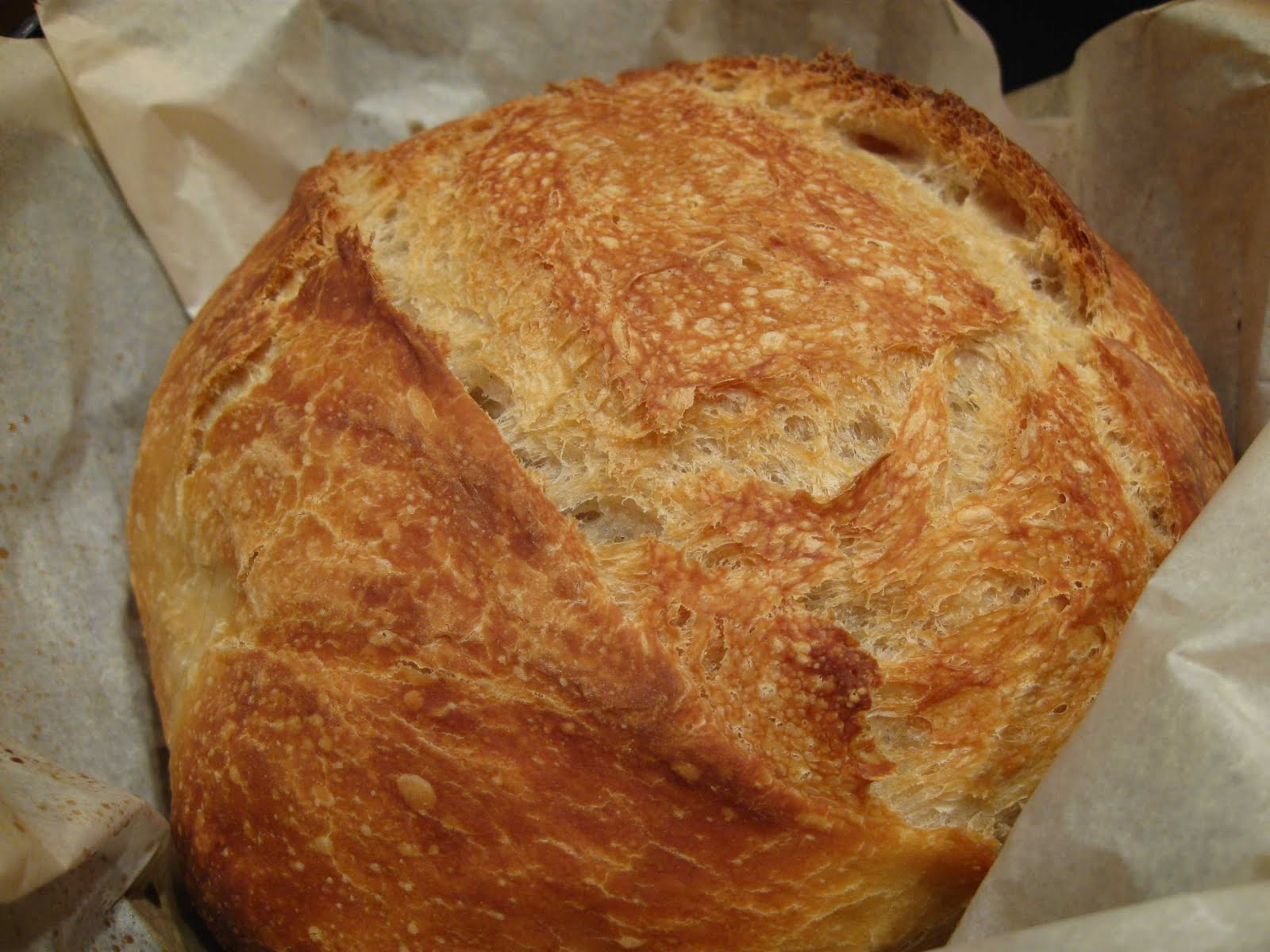 Cooking From Scratch: Almost No Knead Bread