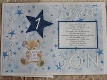 A4 Boys Grave Card