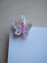 Pink Butterfly Grave Card Holders
