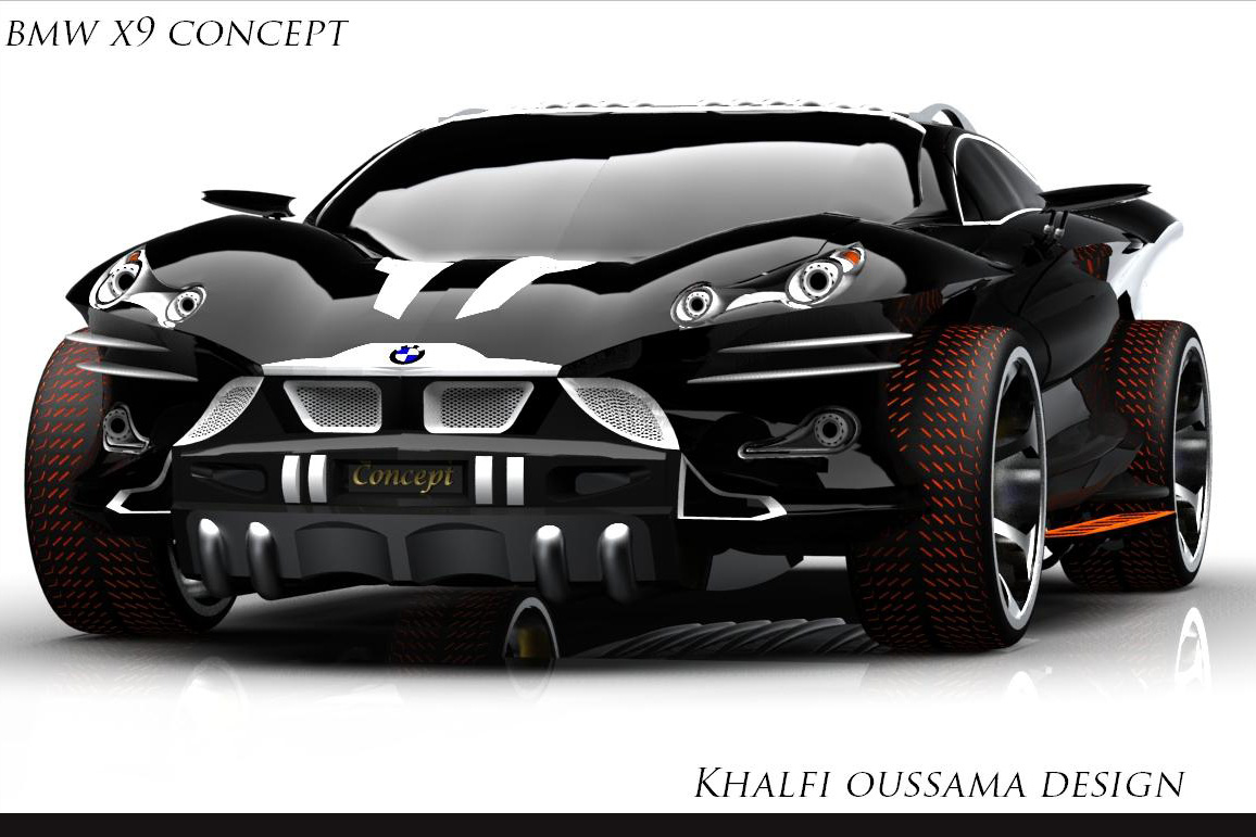 4x4 Bmw X7 >> ComCar KARAT: BMW X9 Concept