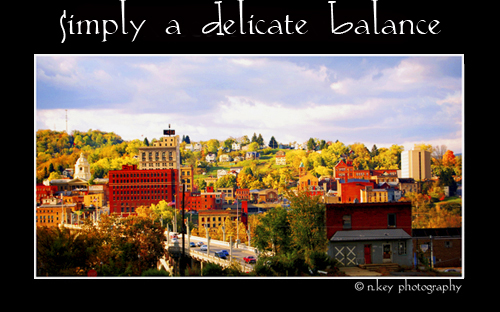 Simply a Delicate Balance