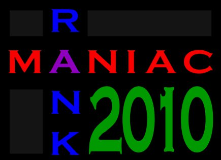 RankManiac 2010 Blog