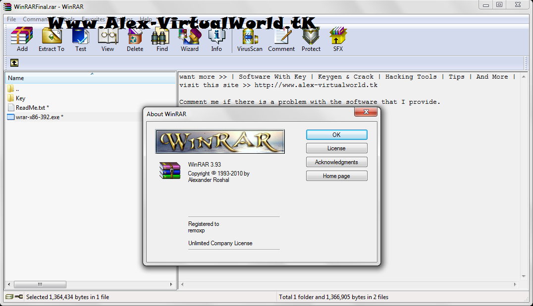 Winrar 3.93 final rus x86 x64 by soft9