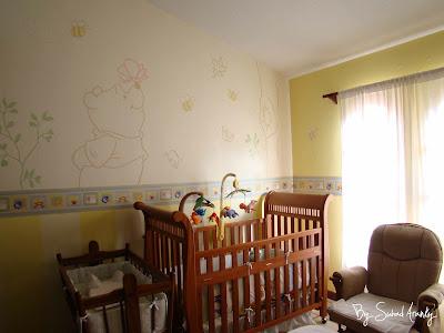 murales en dormitorios cuarto de beb winnie the pooh