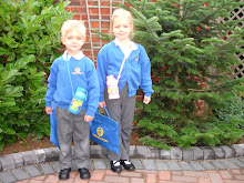 Sophie and Sam go back to School