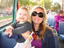 On board London sightseeing bus