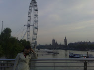London Eye with Cindy