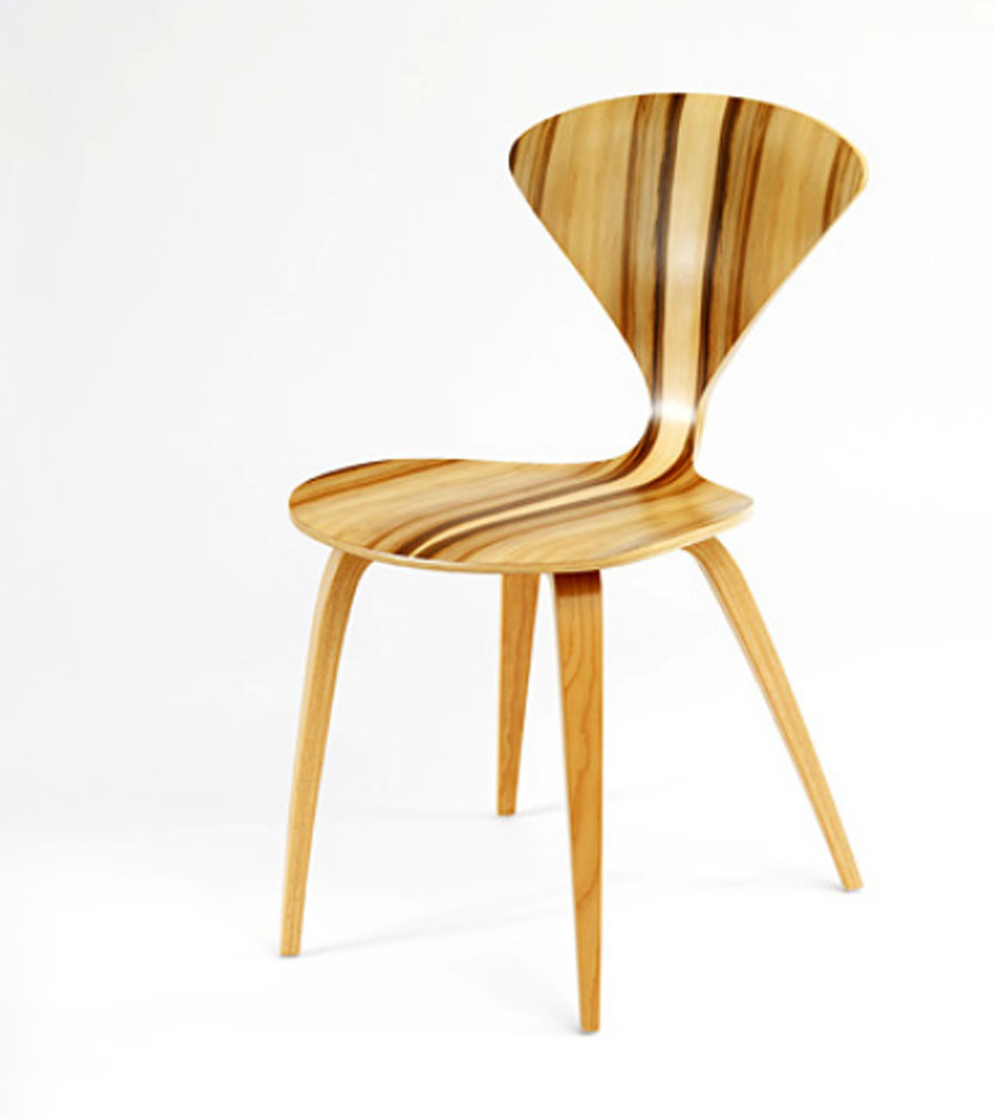 Molded plywood chairs by cherner chair beautiful chair for Furniture chairs
