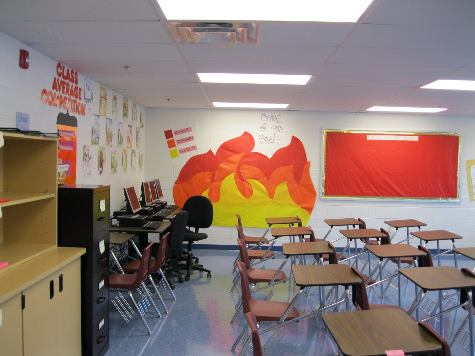 English Classroom Decoration Ideas : Walking and teaching on memphis ready set fire ms