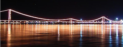 Suspension bridge celebration, Rattanakosin 200 Years