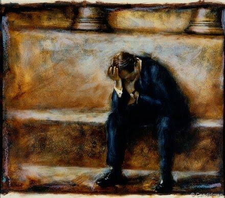Arrepentimiento y el Perdon No mas Hombre-llorando