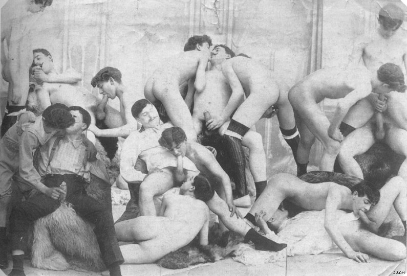 VintageGayOrgy Vintage Boys Gay Vintage3 Vintage Gays From The Past