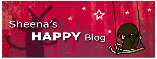 Sheena's HAPPY Blog