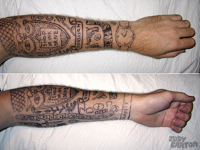 design japanese arm tattoos
