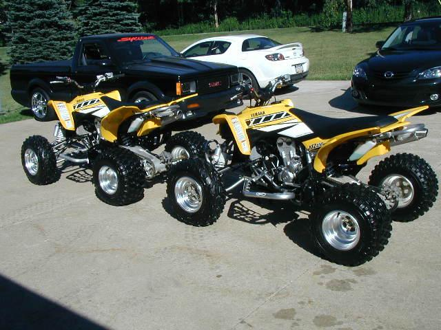 Watch out for the scammers selling YZF450 atv Pair
