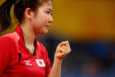 Ai  Fukuhara is kind of pretty Table Tennis