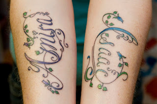 name tattoos, tattooing