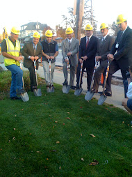 Kamm's Streetscape Ground Breaking Ceremony