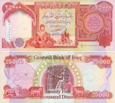 Dinar IRAQ: Ciri-ciri keselamatan dinar iraq