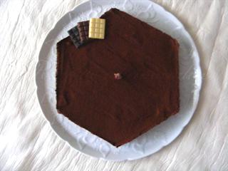 Royal dans craquant au chocolat mousseux